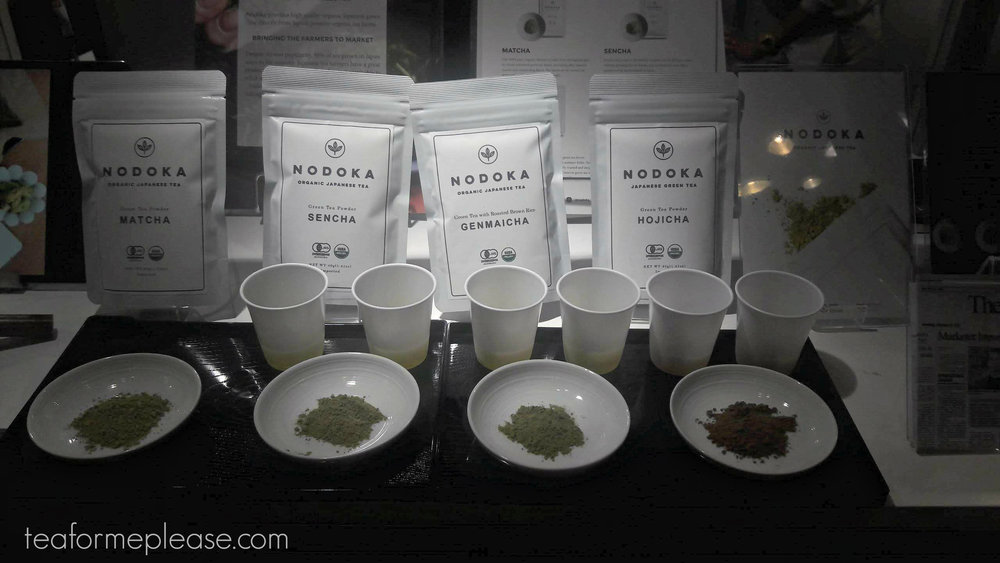 Nodoka Tea had some interesting powdered tea offerings