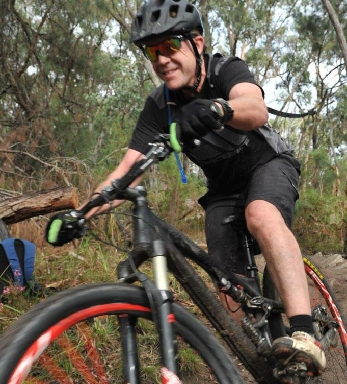 Duncan Rose(Silvan Trail Custodian) - Man on a mission with a brush cutter in his hands.Laid back. Likes to ride enduro.Can often be found in Derby (TAS). Looking forward to more Yarra Ranges trail.Signature awkward placement of backpack in action shotsAlso didn't write this blurb.