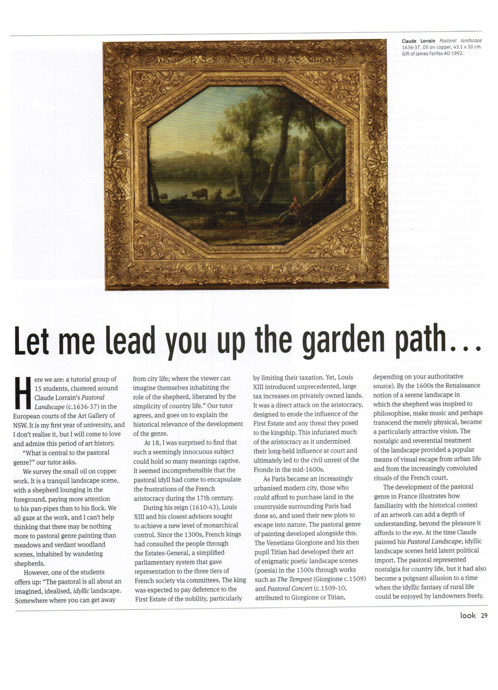 Let Me Lead You Up the Garden Path p1 - Look March 2013