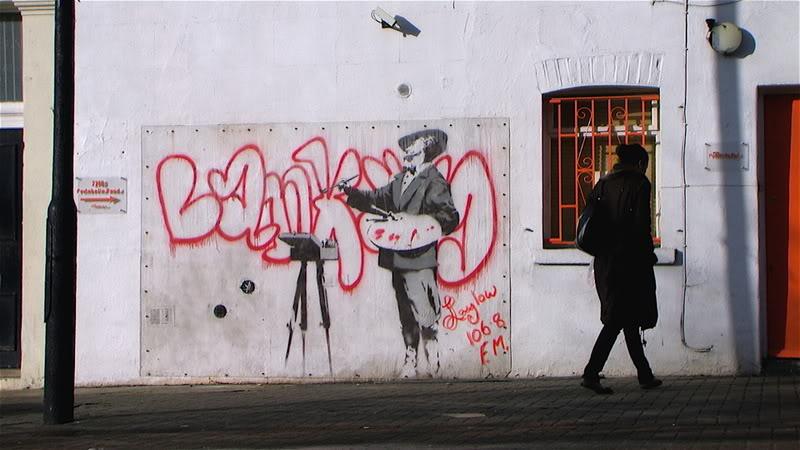 Portobello Banksy, Image by Jem Gibbs