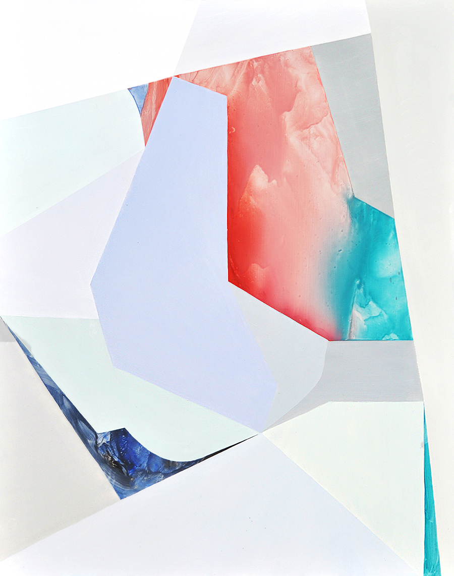 Genevieve Felix Reynolds, 'Swipe Right,' 2015, oil on aluminium composite