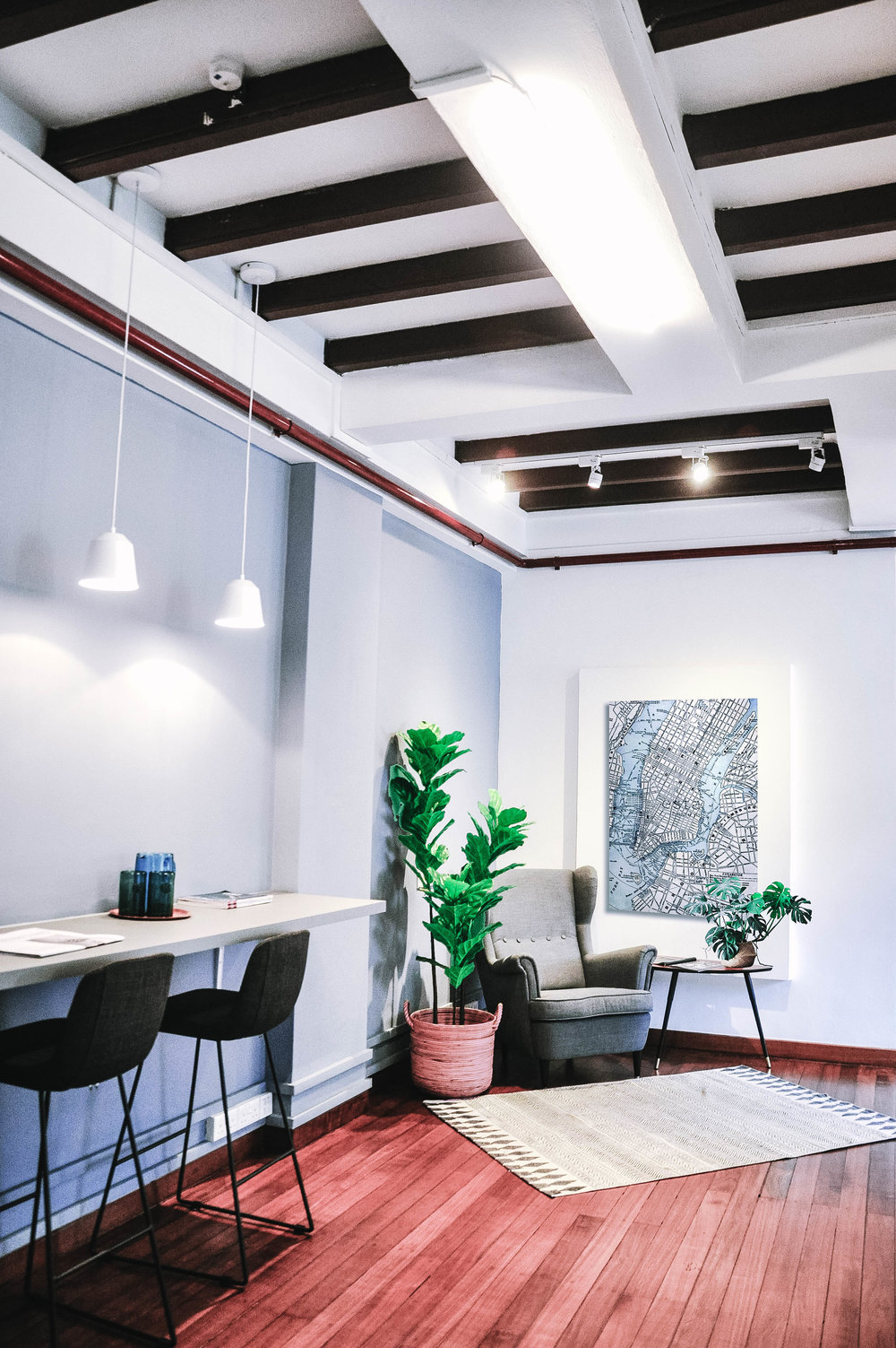 Cool Hip Urban Shophouse Office Design
