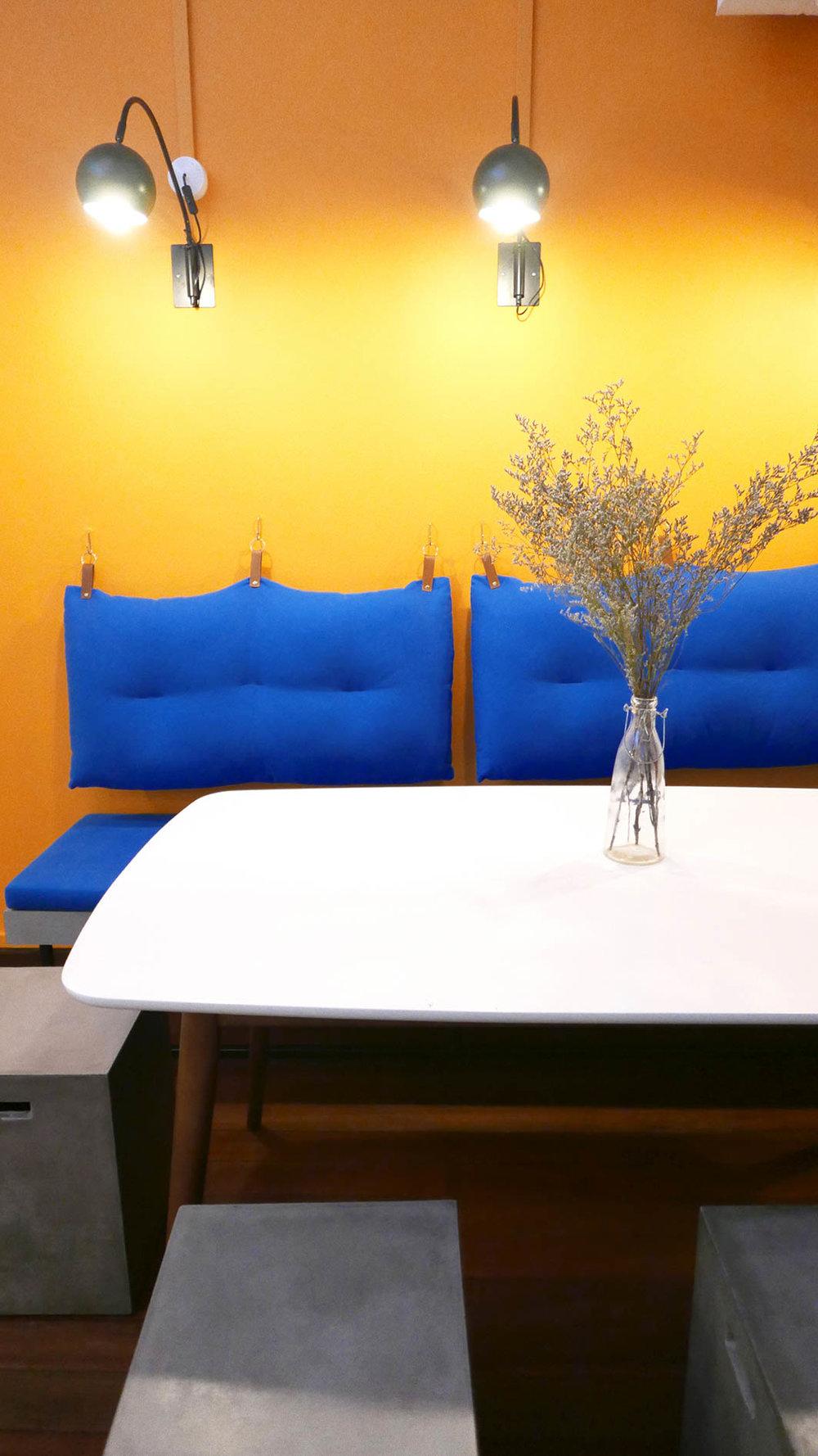 Playful Office Lounge Area