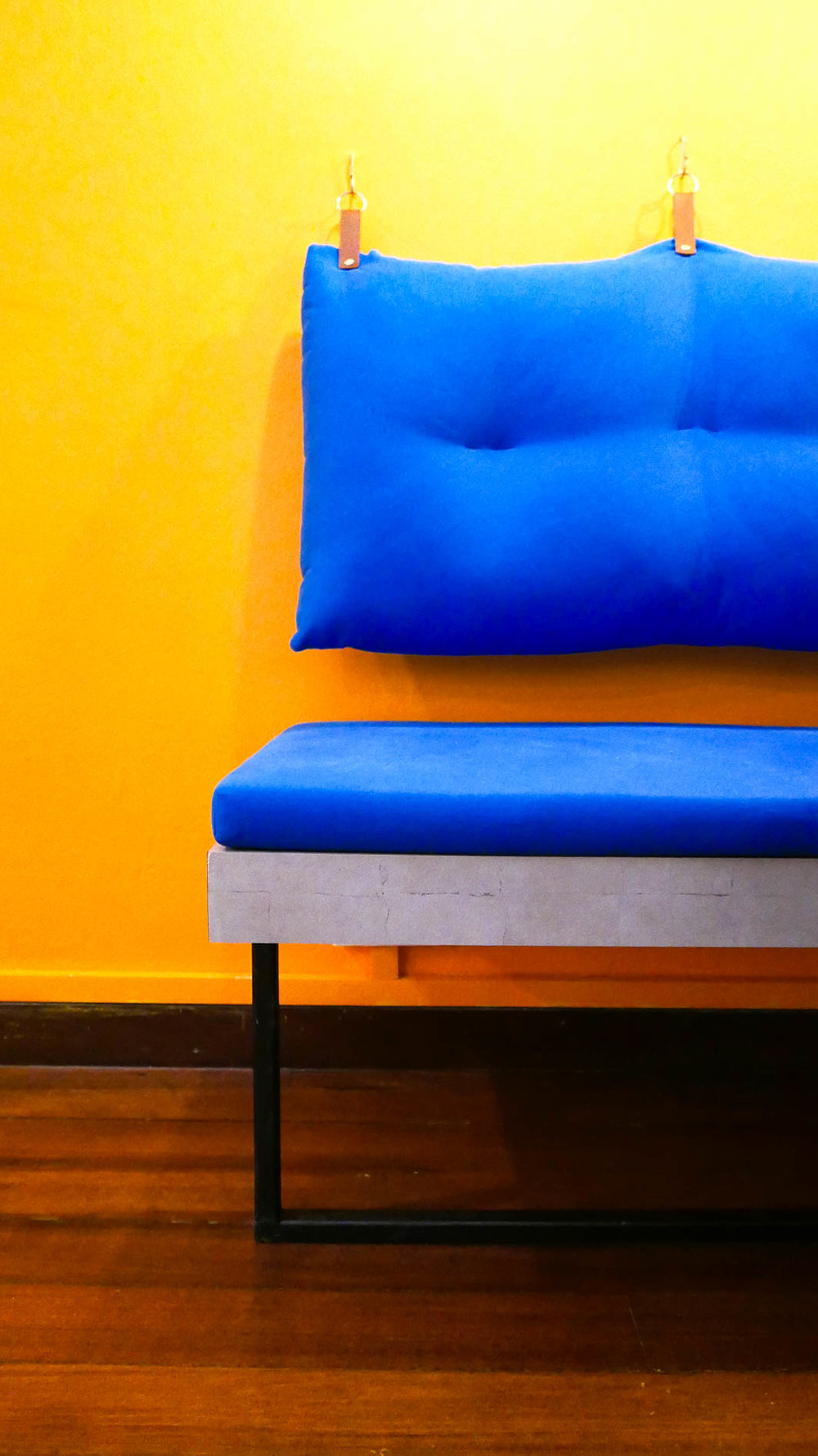 Bright Colourful Office Couch