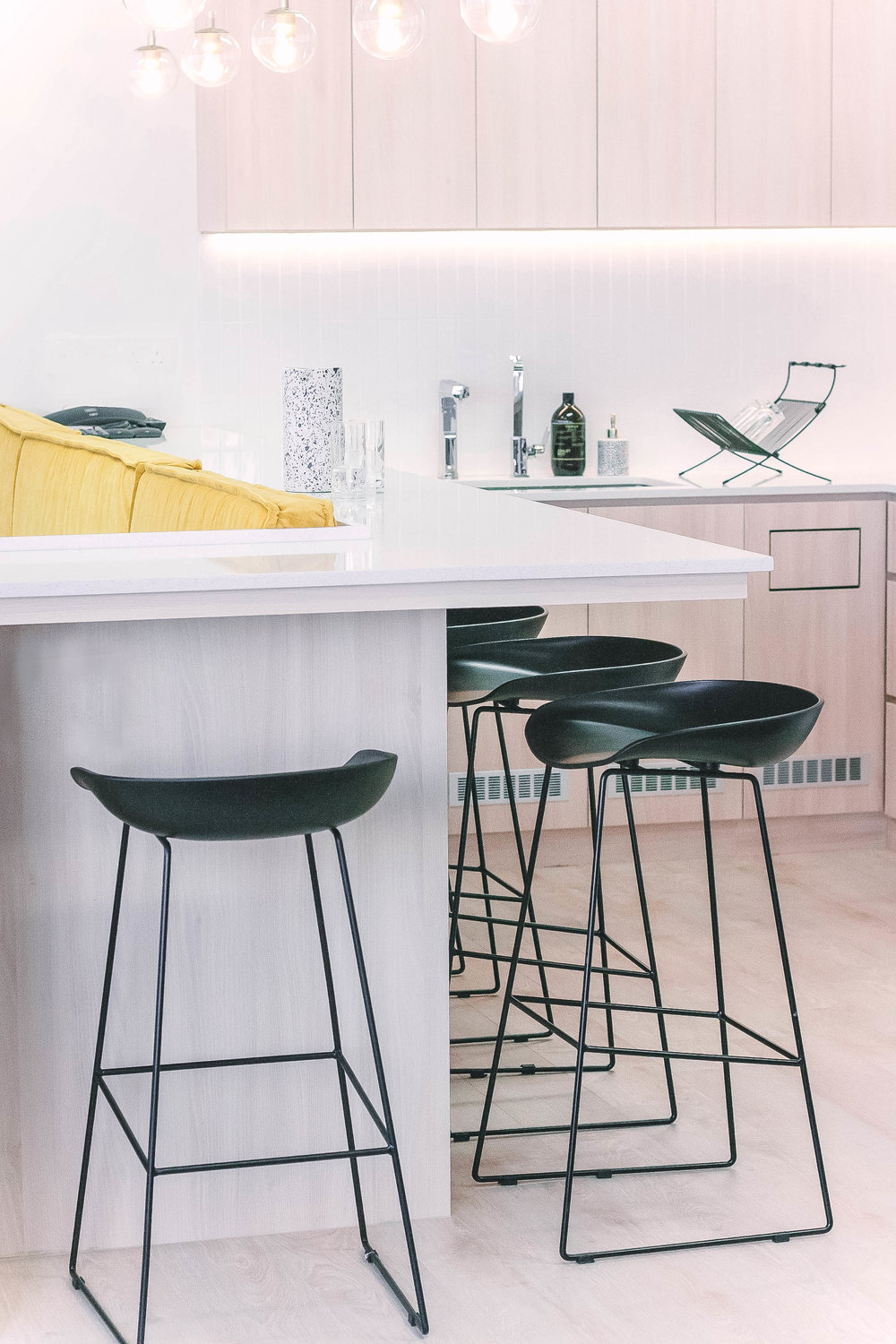 Cool Black Bar High Stools