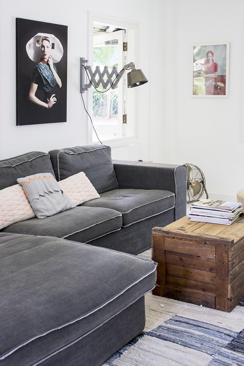 Rustic Stylish Family Room