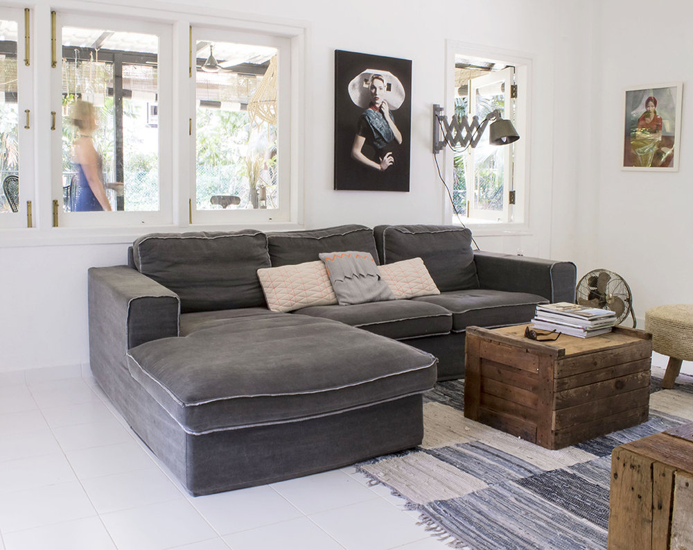 Cosy Bright Living Room Design