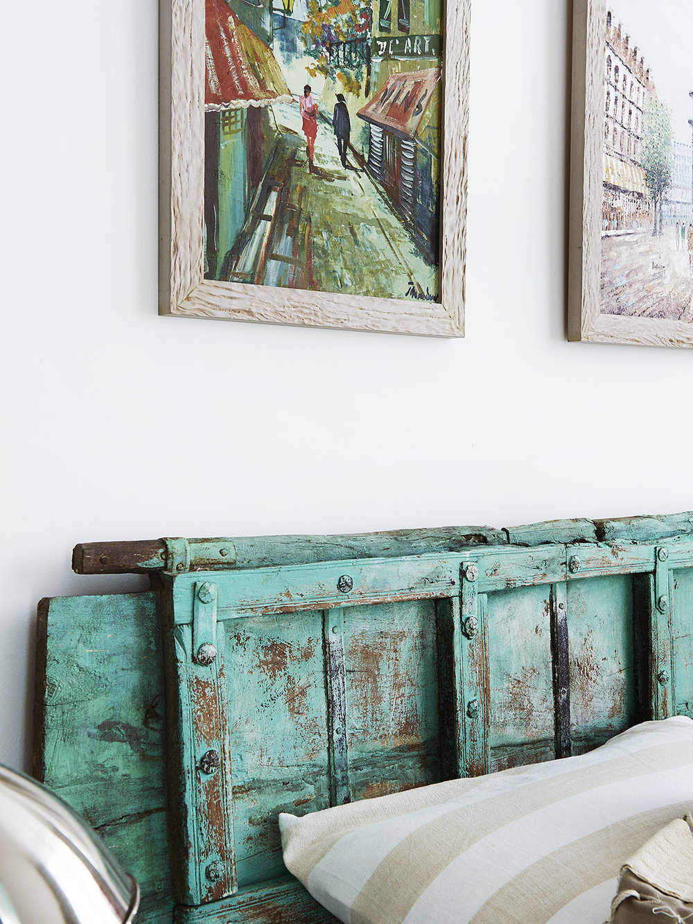 Rustic Cool Recycled Headboard