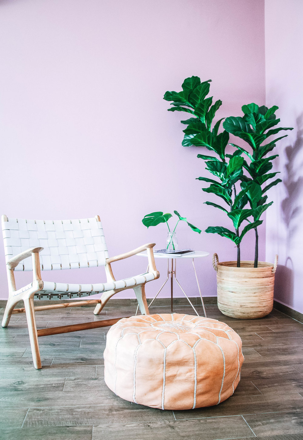 Instagram Worthy Outdoor Chill Corner Pastel Feature Wall