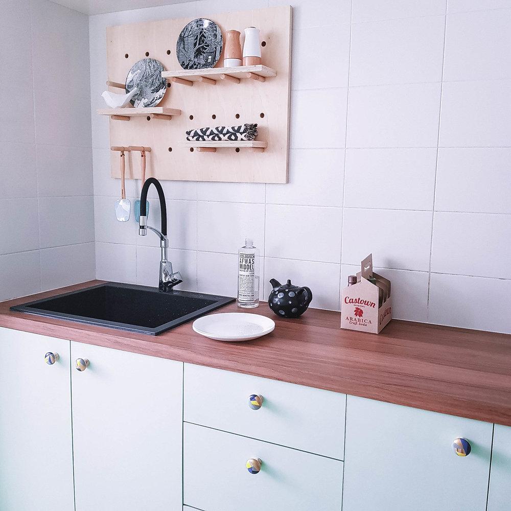 Bold Black Sink Instagram Worthy Kitchen Design Goals