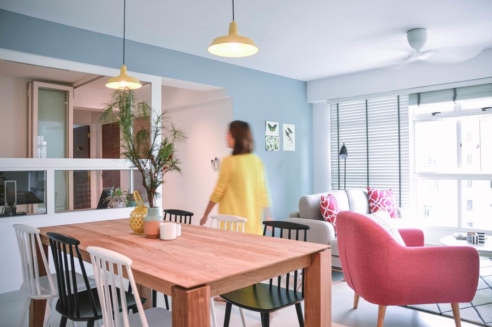 Open Living Dining Room Design