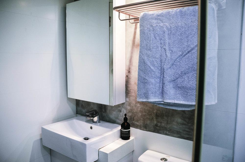 Small Fresh Bathroom Design