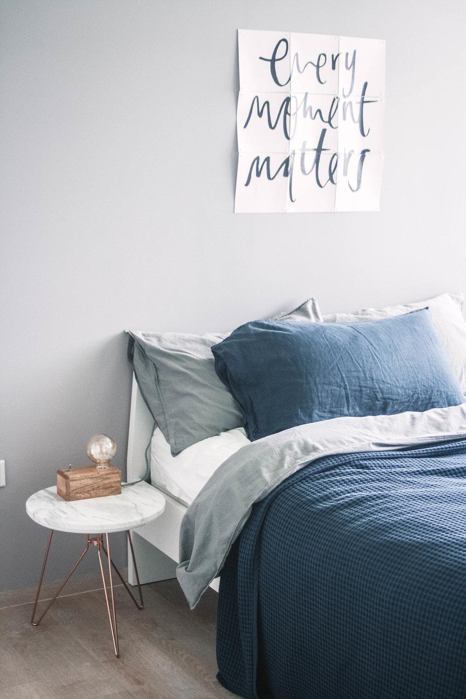 Minimal Cool Bedroom Interior Decor