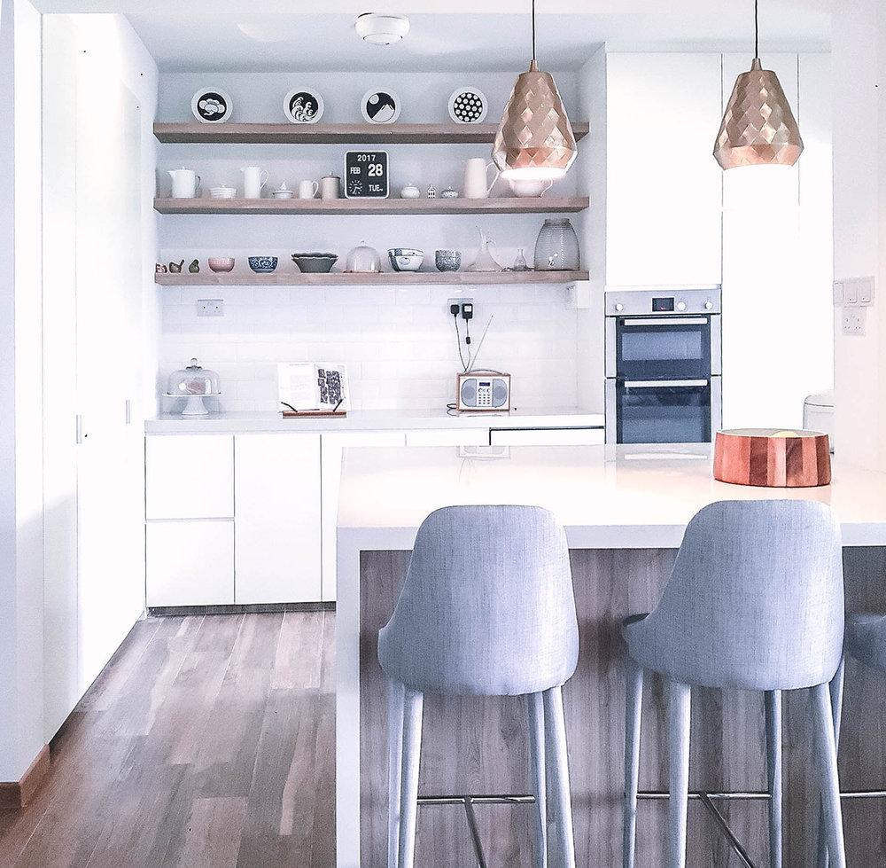 Scandinavian Luxe Kitchen Bar