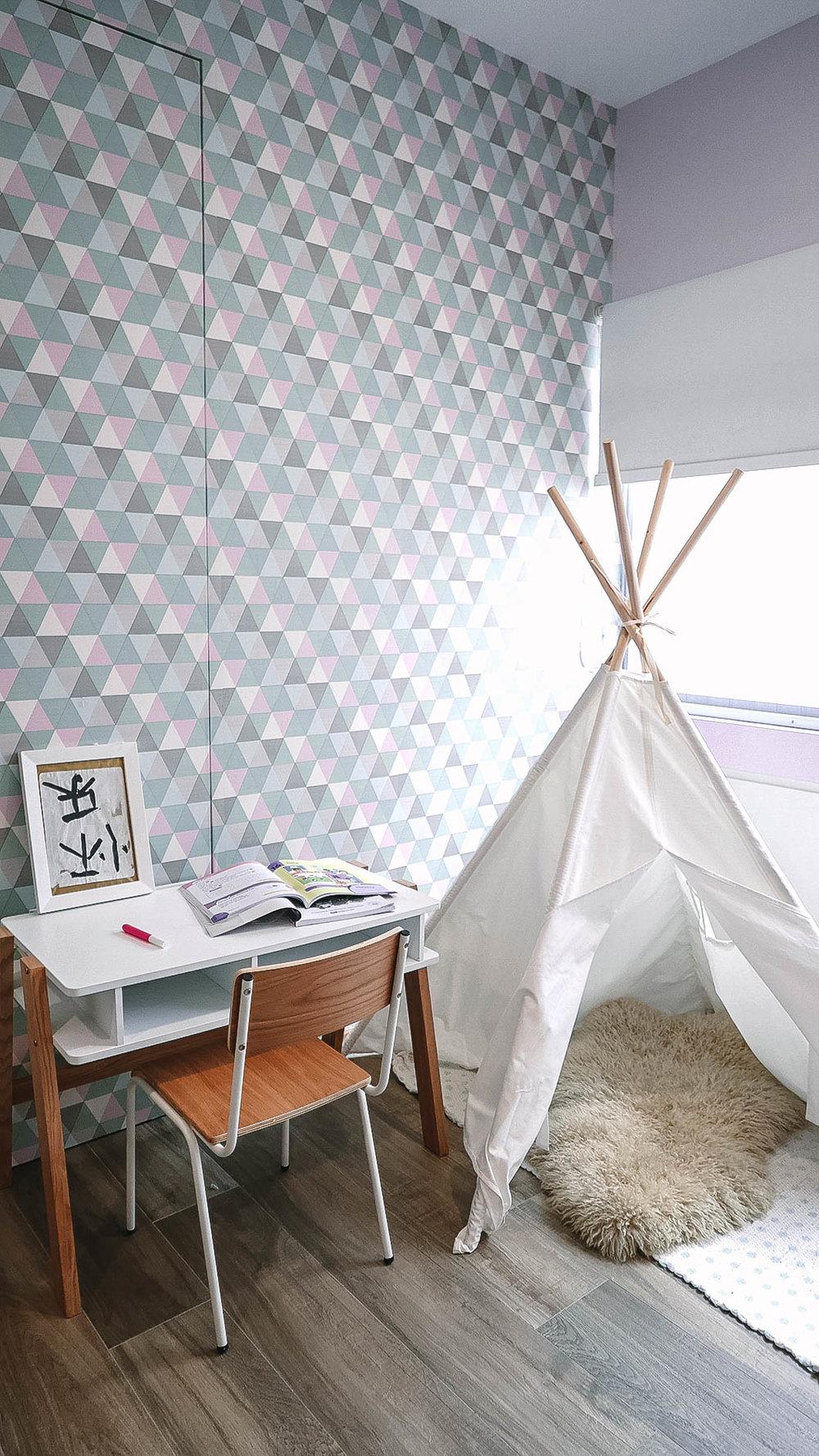 Cool Kids Room Teepee Play Area