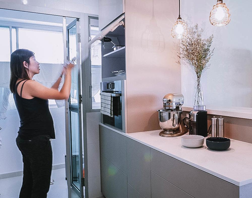 Scandinavian Inspired Kitchen Renovation