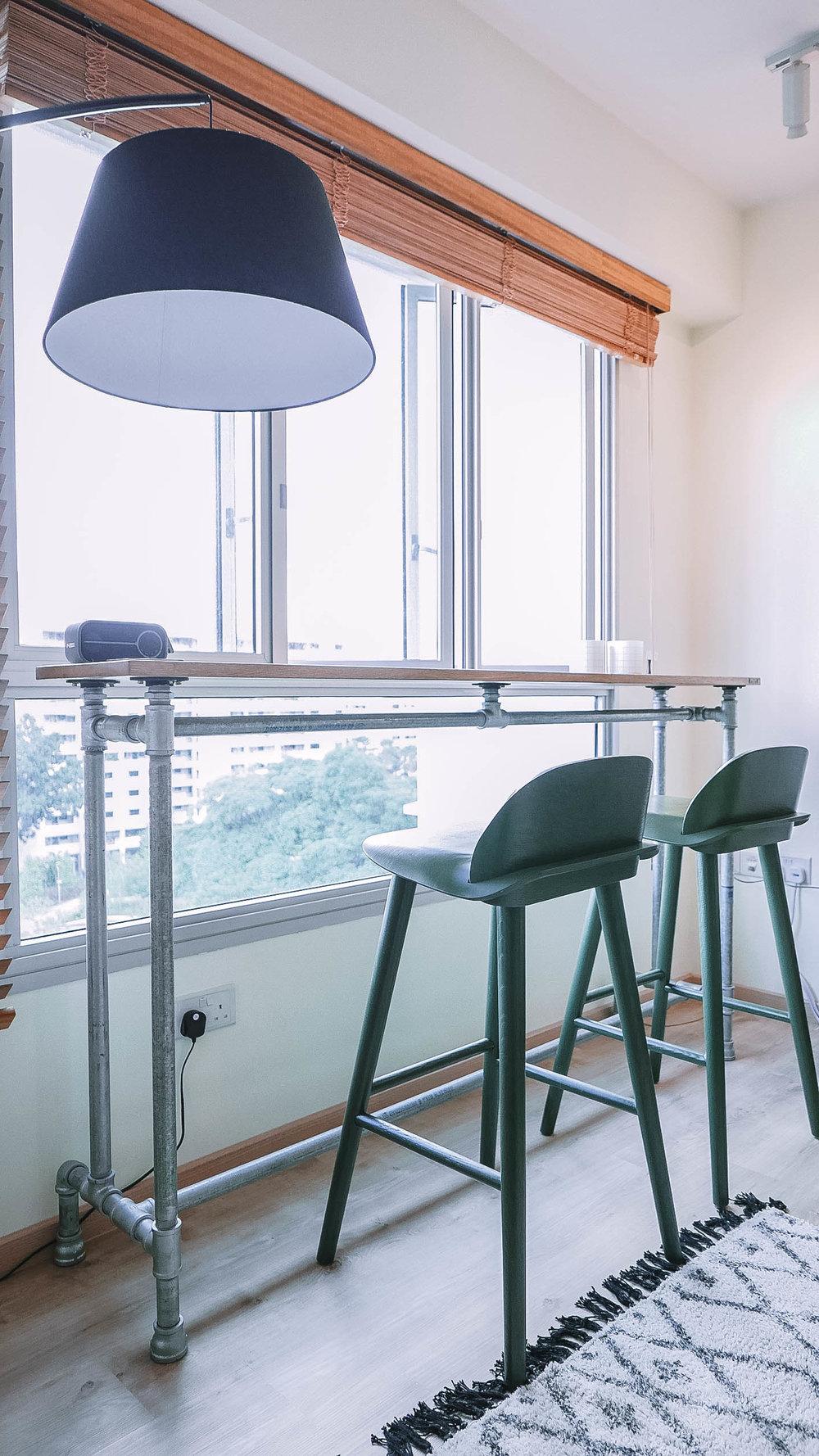 Window Bar Living Room