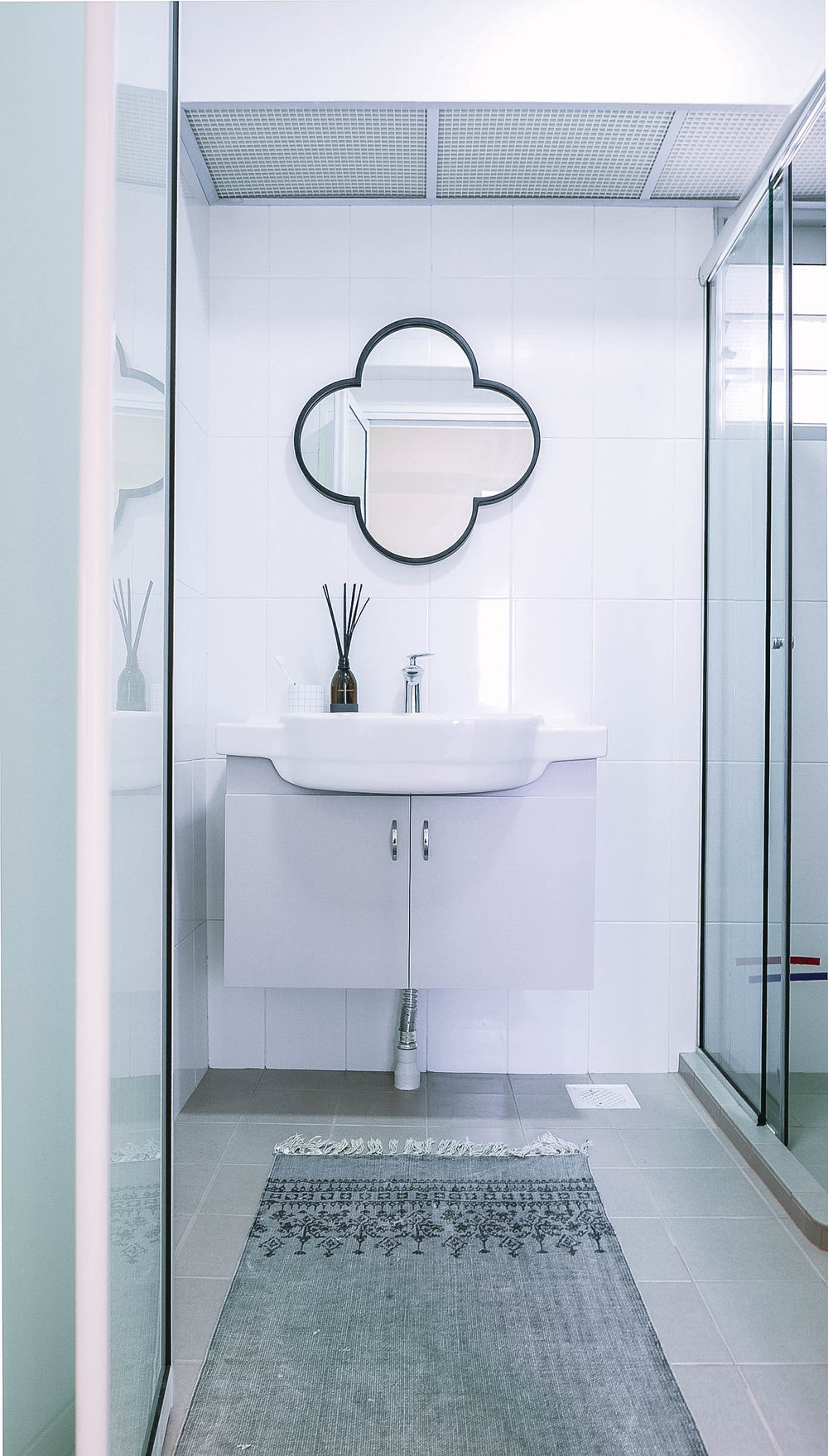 Funky Bathroom Mirror