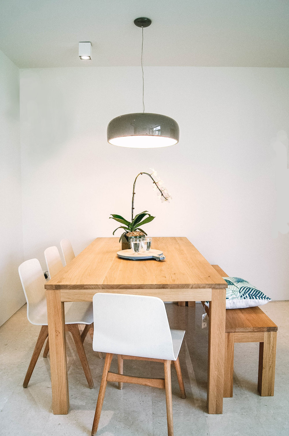 Stylish Dining Room Wooden Table