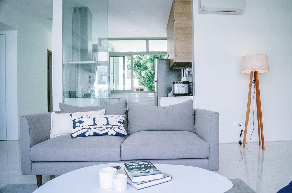 Chill Living Room Interior