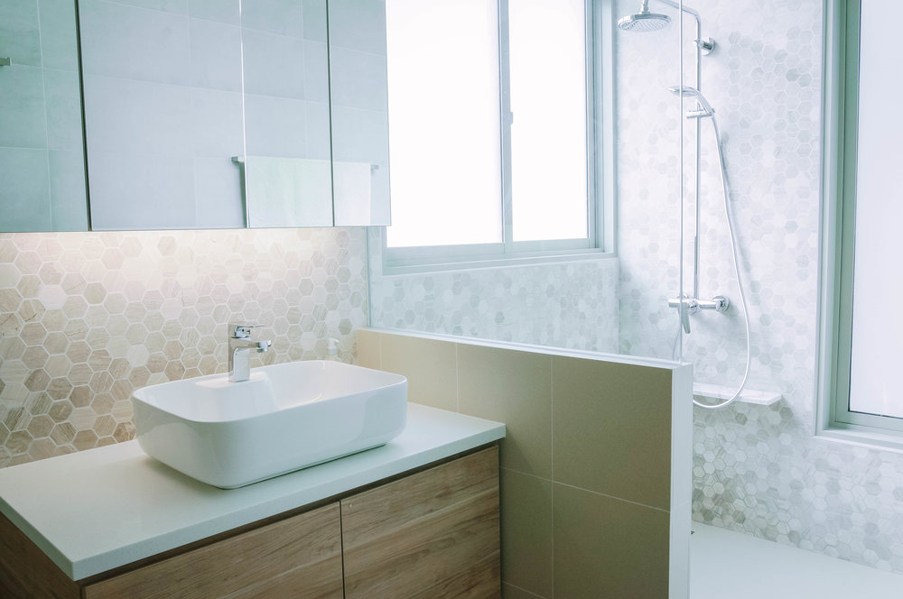 Minimal Muted Colours Bathroom