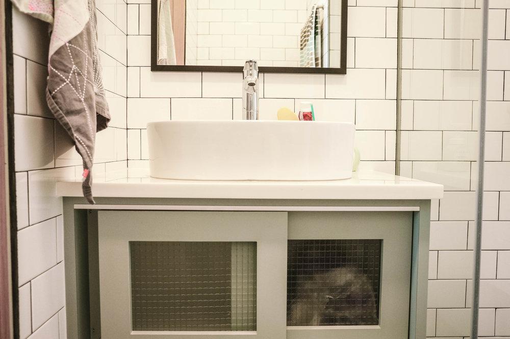 Pretty Bathroom Vanity Storage