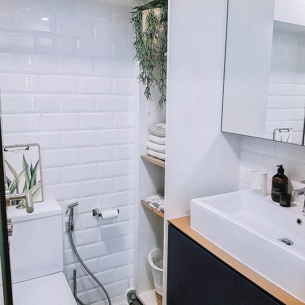 Bathroom Plant Bright Airy Cosy