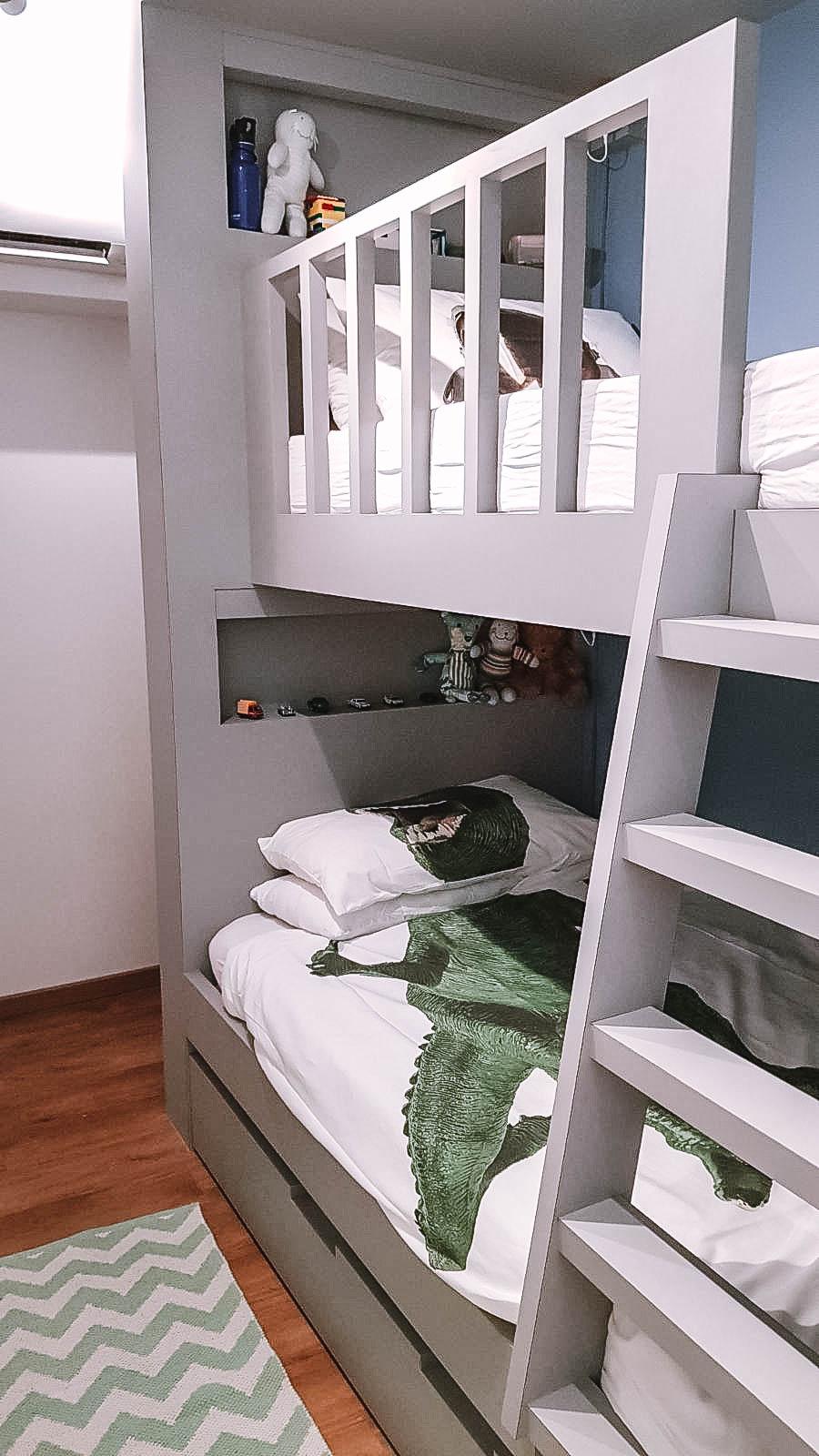 Kids Bedroom Bunk Bed Ladder