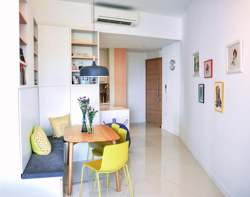 Bright Apartment Design
