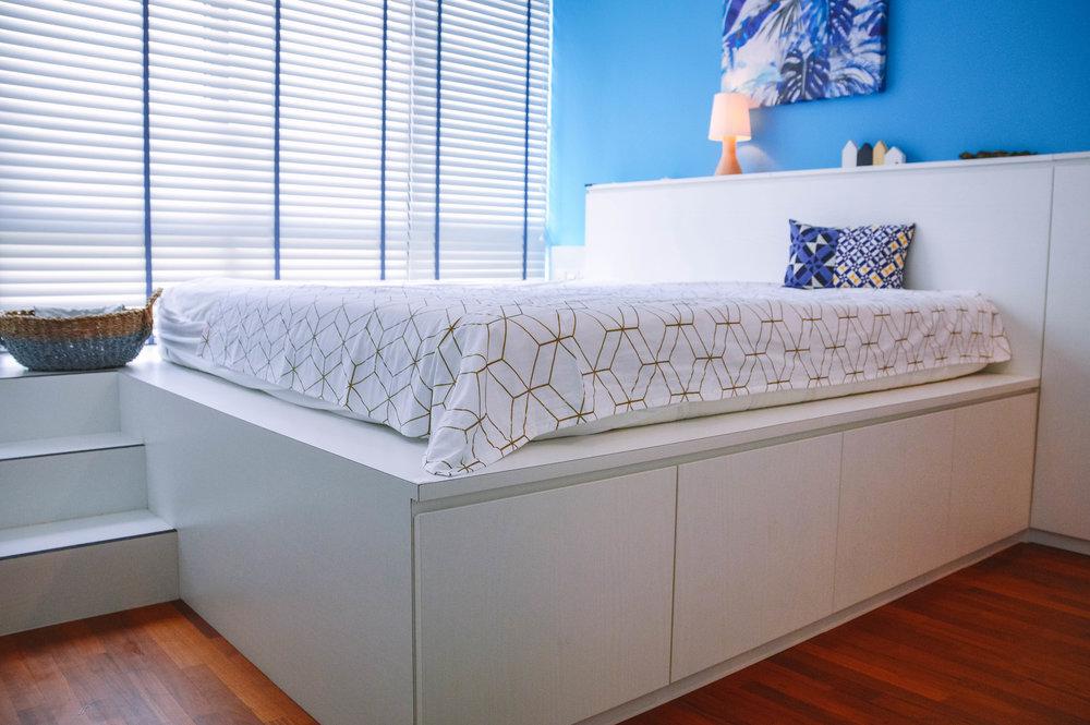 Under Bed Storage Frame