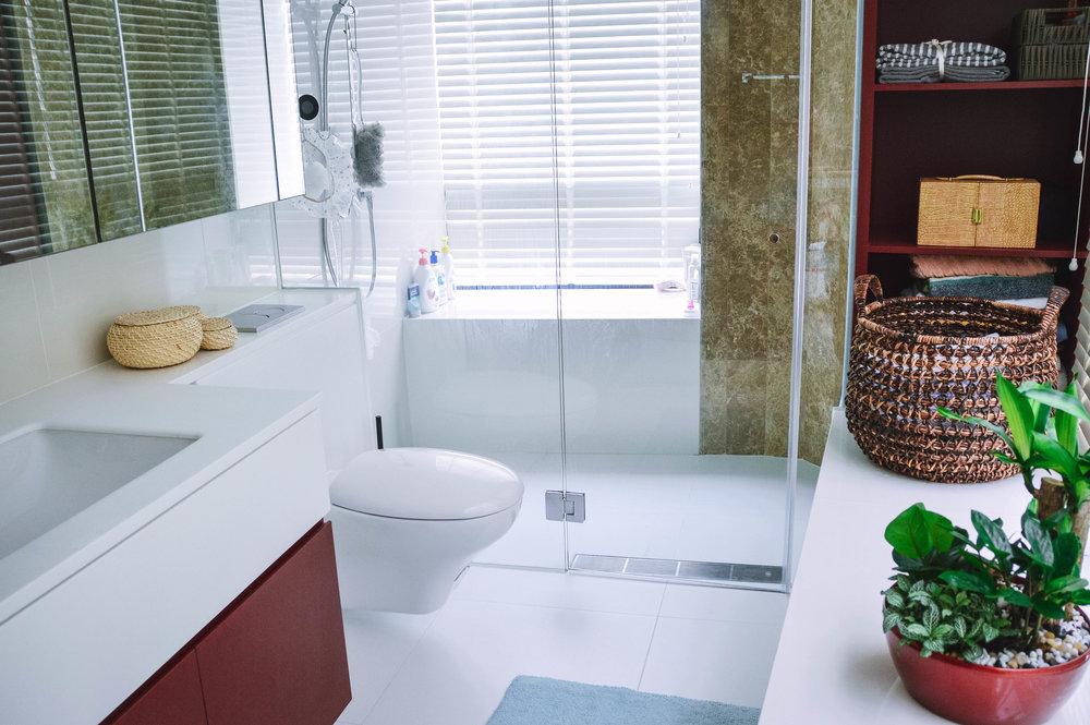 Apartment Bathroom Bright Airy