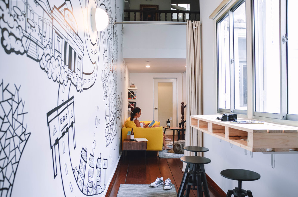 Cool Wall Mural at Home