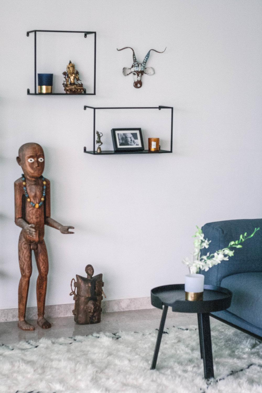 Modern African Inspired Home Decor