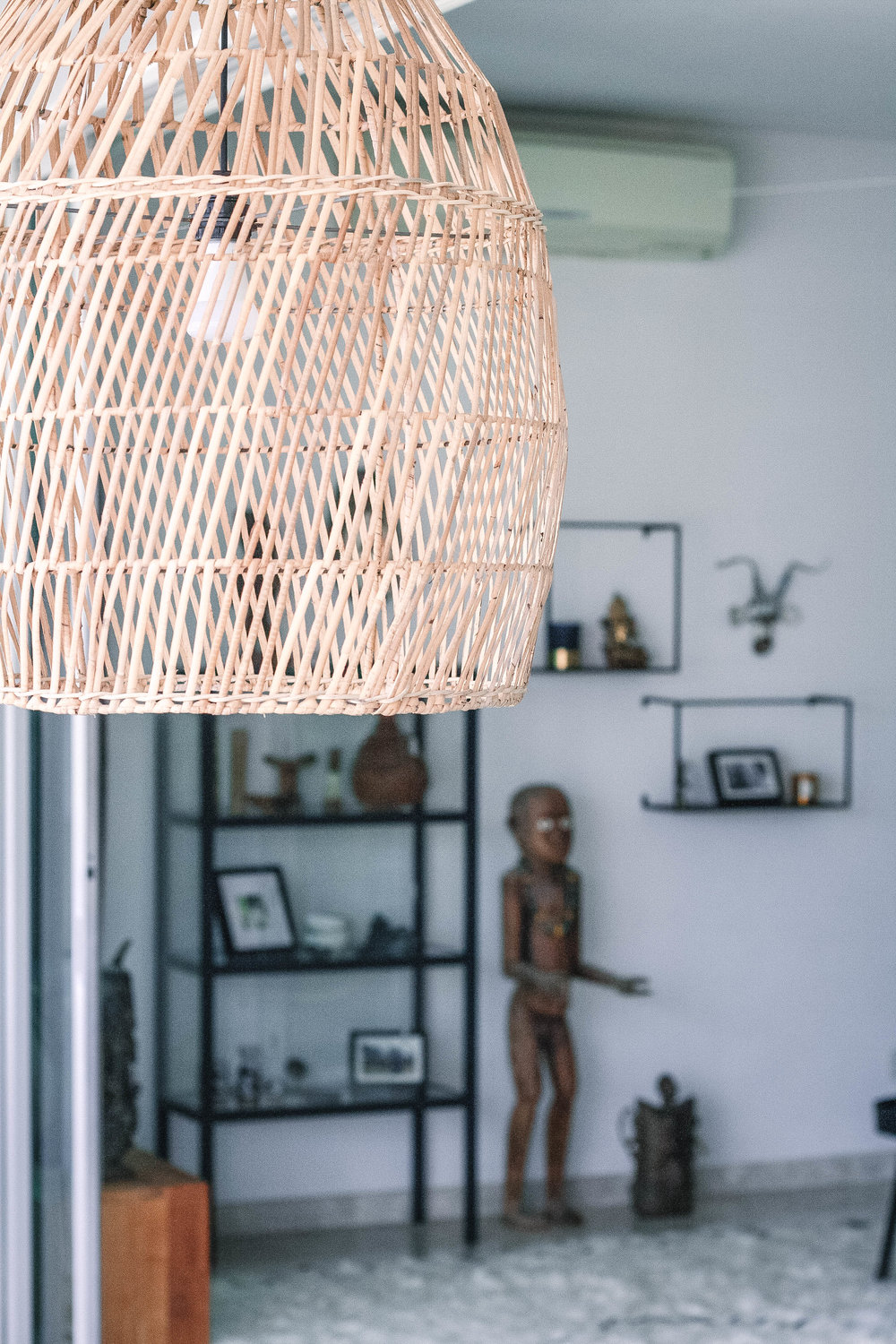Rattan Light Pendant Modern Home