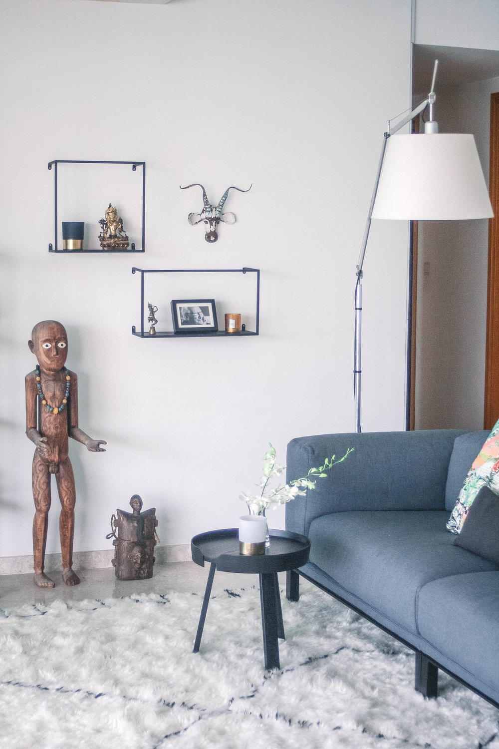 Interior Design Styling African Fusion Cool Apartment