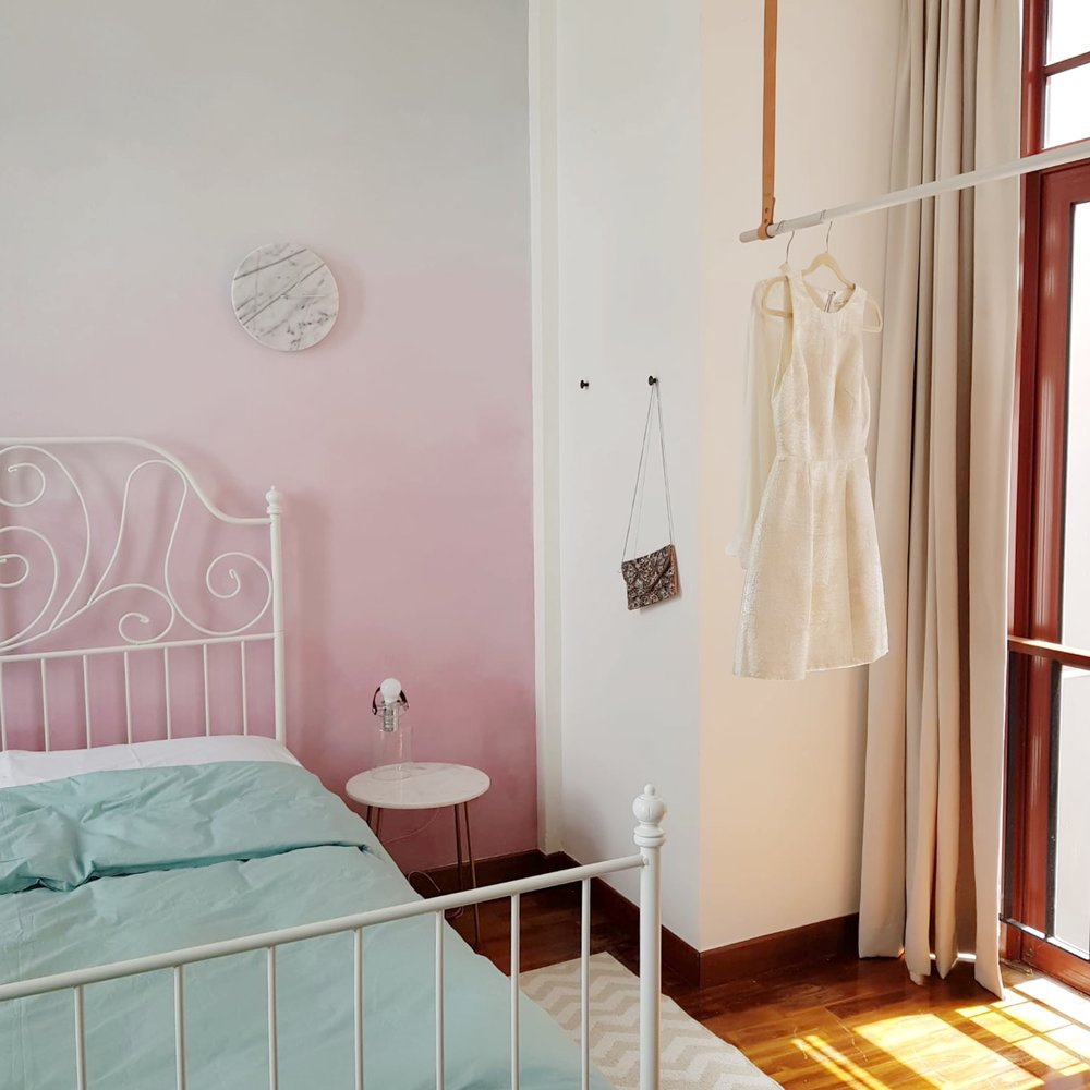 Pastel Colour Bedroom Design