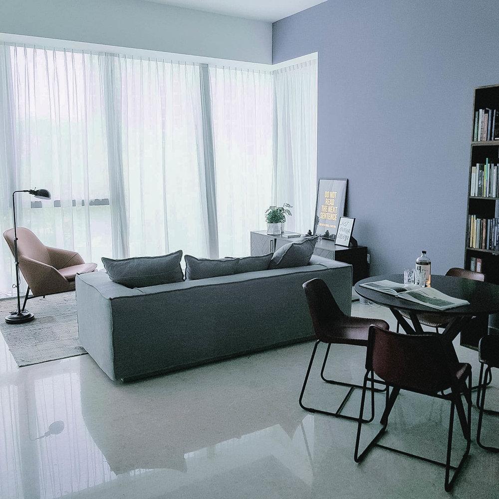 Hip Cool Urban Apartment Interior Design