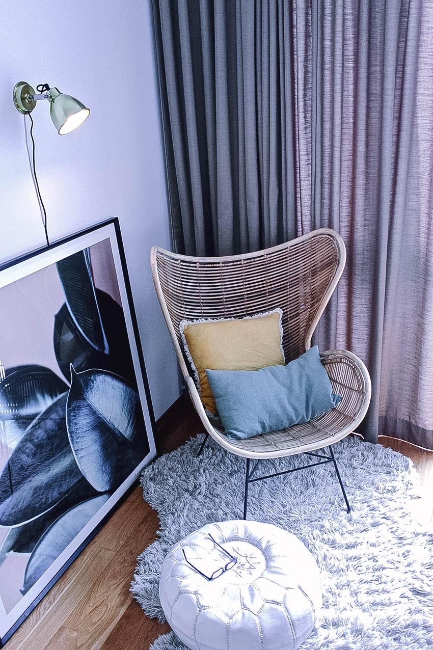 Cosy Bedroom Nook Styling