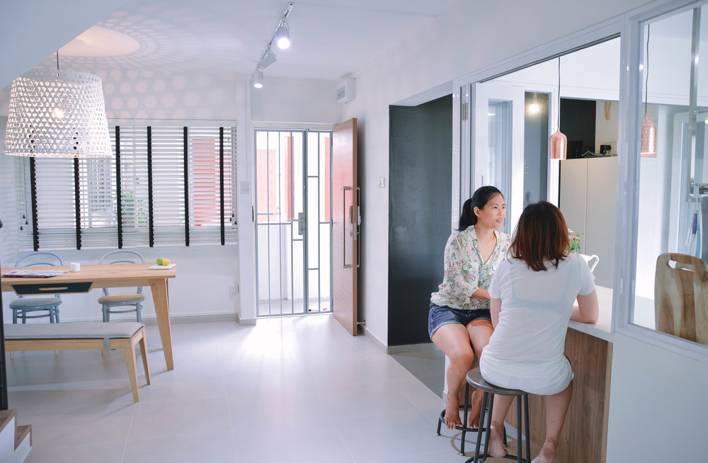 Cosy Bright Airy Apartment Design Renovation