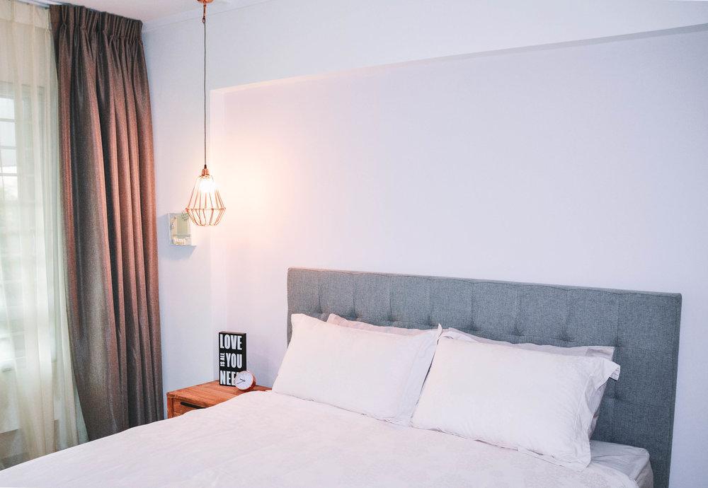Bright Modern Minimal Bedroom