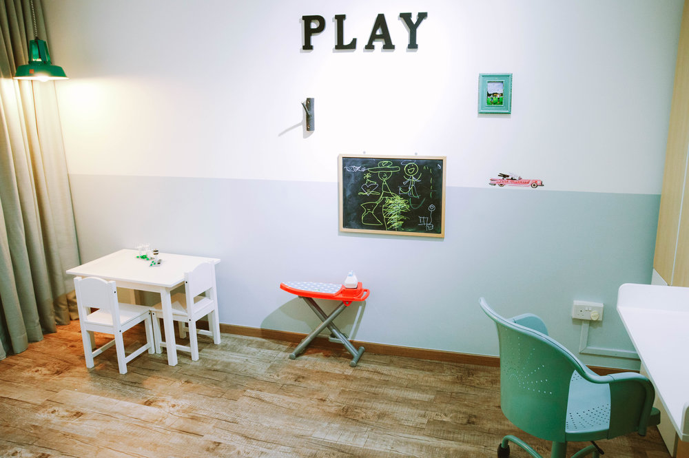 Cute Quirky Kids Playroom Design