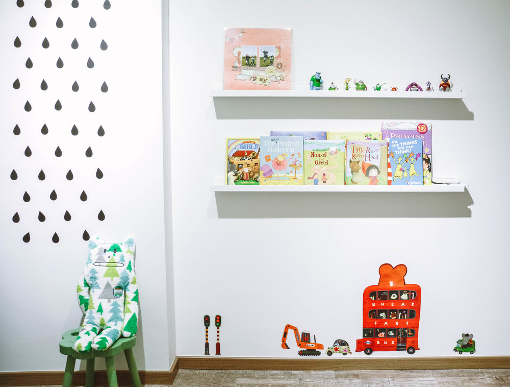 Kids Playroom Wall Decor Inspiration