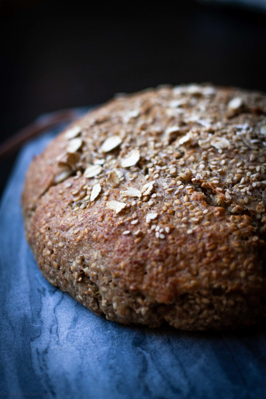 Rågbröd med havre