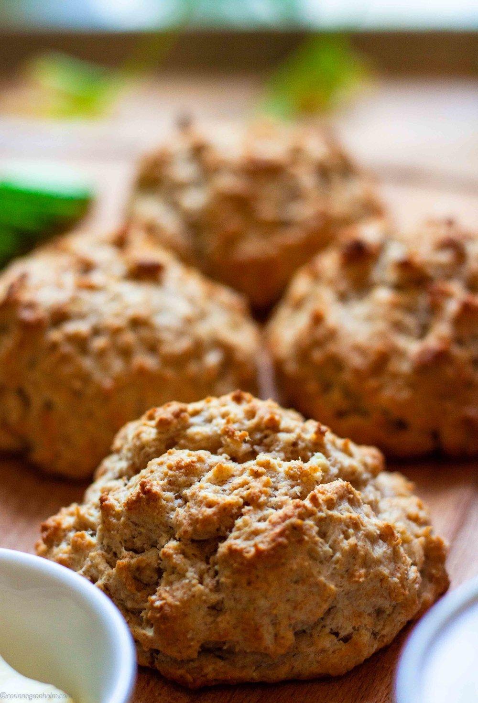Saftiga scones med kort tillagningstid