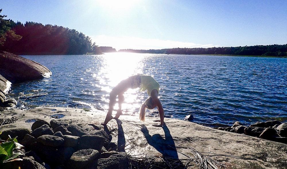 Om en magisk yogadag som jag troligen aldrig kommer glömma. <3
