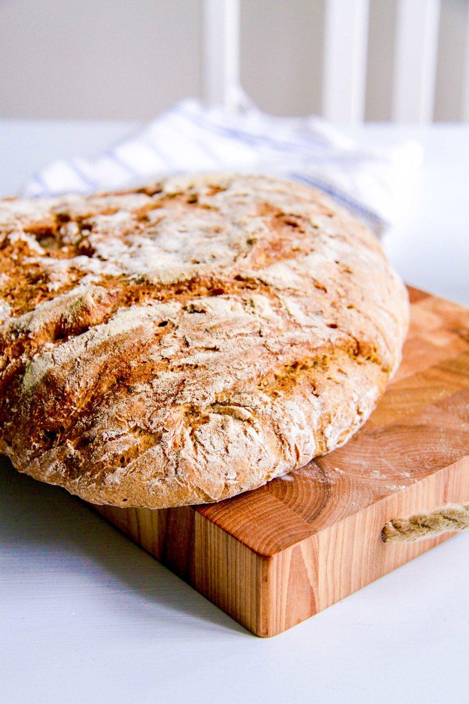 Grovt rågbröd med morot