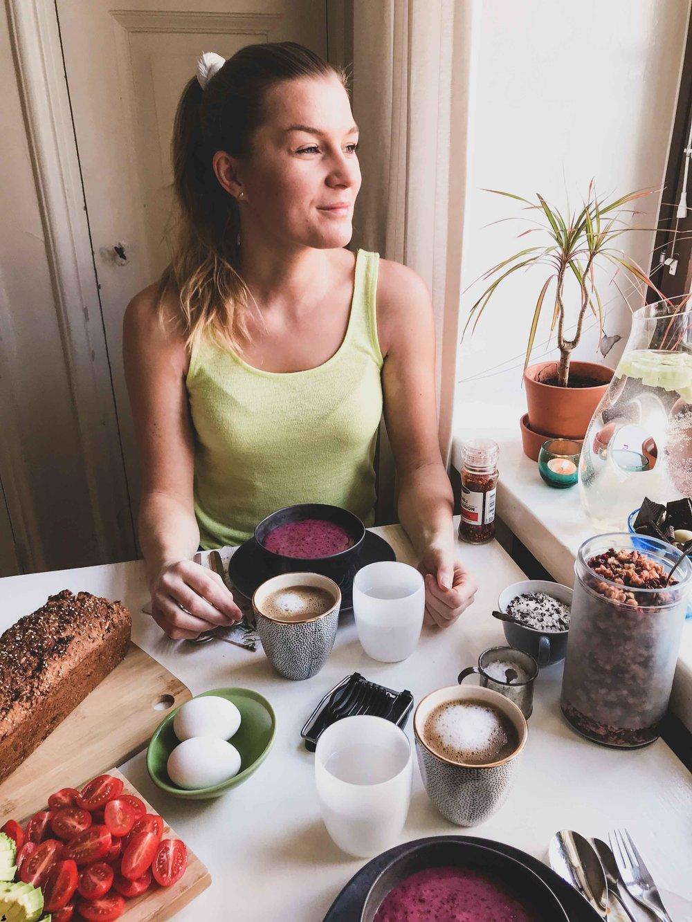 Corinne Grönholm blogg