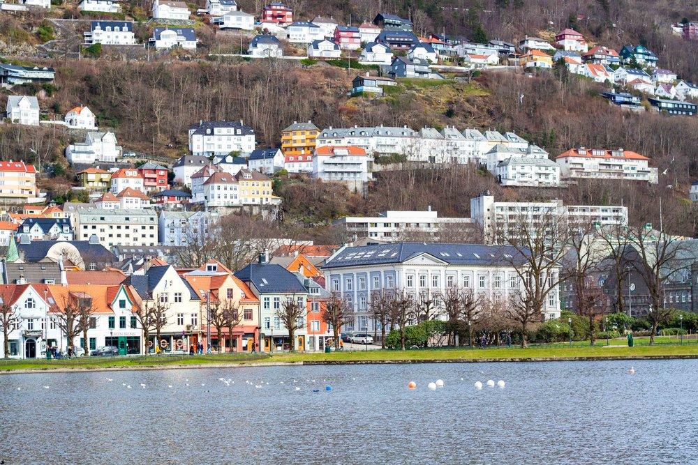 Byn i Bergen
