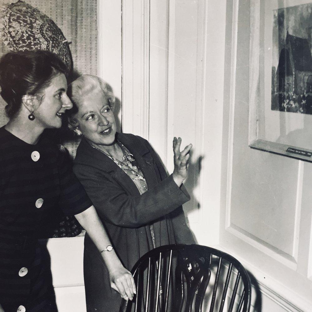 Joan Charnley, Curator