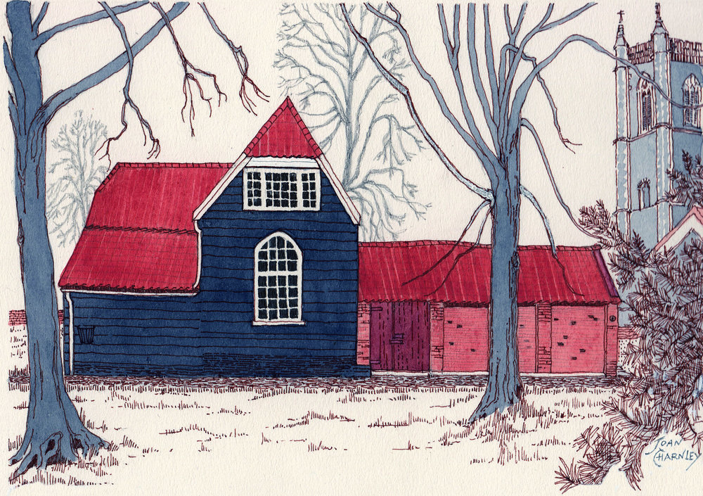 Joan Charnley Wooden House